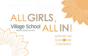 Give to the Sunflower Campaign - All Girls, All In!